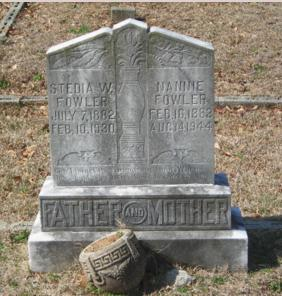 steady fowler grave